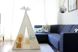 modern Nursery/kid's room by Moozle