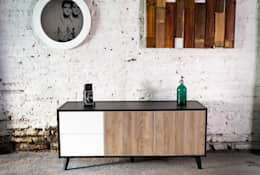 Salon de style de style Moderne par EGGER Wood-based materials