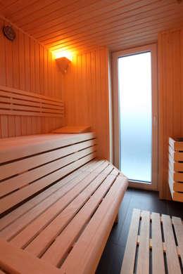 Spa de estilo minimalista por Architektur Jansen
