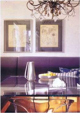 Champagneur: Salle à manger de style de style Moderne par Artcompose