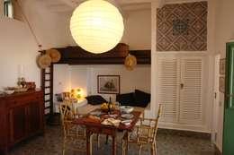 mediterranean Living room by Studio di Architettura Manuela Zecca