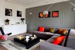 BOSQUET: Salon de style de style Moderne par URBAN D&CO