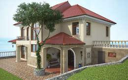 mediterranean Houses by Дизайн - студия Пейковых