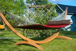 Jardín de estilo  por Emilyhannah Ltd