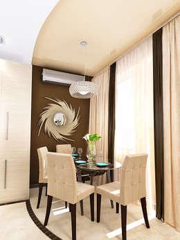 Кухня-гостиная: Столовые комнаты в . Автор – mysoul