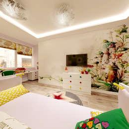 Dormitorios infantiles de estilo moderno por ООО 'Студио-ТА'