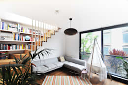 modern Living room by E2 Architecture + Interiors