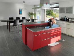Binder Architektur AG: modern tarz Mutfak