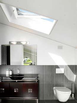 Binder Architektur AG: modern tarz Banyo