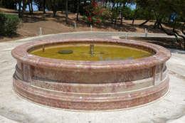 Decorare con l\'acqua e con le fontane da giardino