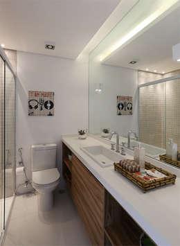 Projekty,  Łazienka zaprojektowane przez MANDRIL ARQUITETURA E INTERIORES