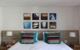 Cuartos de estilo moderno por MANDRIL ARQUITETURA E INTERIORES