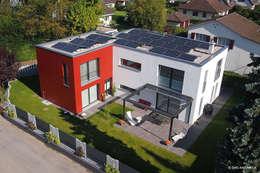 Einfamilienhaus in Muttenz: moderne Häuser von Setz Architektur