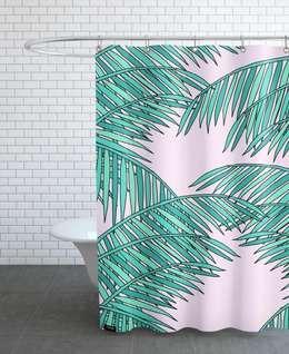 tropical Bathroom by JUNIQE