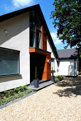 บ้านและที่อยู่อาศัย by LA Hally Architect