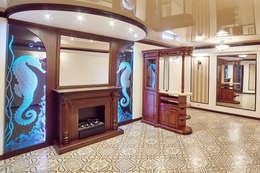 Интерьеры жилого дома в пос.Дубовое: Тренажерные комнаты в . Автор – ООО 'Архитектурное бюро Доценко'