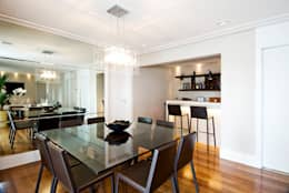 Cavalcante Ferraz Arquitetura / Design : modern tarz Yemek Odası