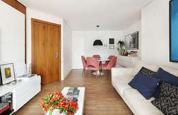 Projekty,  Salon zaprojektowane przez Casa 2 Arquitetos