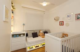 Quarto do Bebê: Quarto infantil  por Casa 2 Arquitetos