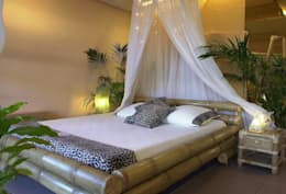 tropical Bedroom by Bamboe design