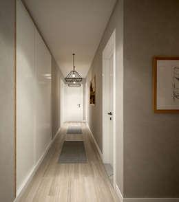 Pasillos y recibidores de estilo  por yücel partners