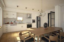 Projekty,  Kuchnia zaprojektowane przez yücel partners