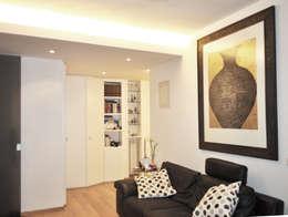 modern Living room by zero6studio - Studio Associato di Architettura