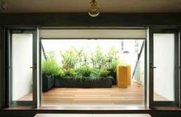 Jardin de style de style eclectique par SUNIHA UNIHA(サニハユニハ)