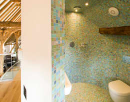 Denne Manor Barn : modern Bathroom by Lee Evans Partnership