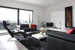 Salas de estar modernas por FingerHaus GmbH
