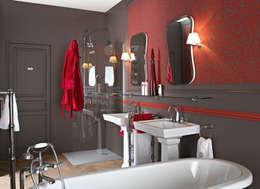 Salle de bain Ascott: Salle de bains de style  par HORUS