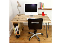 Bureau de style de style Industriel par swinging monkey designs