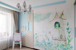 classic Nursery/kid's room by Cameleon Interiors