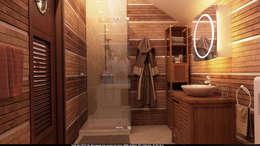 Architoria 3D: minimal tarz tarz Banyo