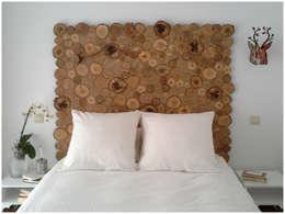 Dormitorios de estilo rústico por JP.4 ARTWOOD