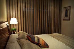 غرفة نوم تنفيذ Helô Marques Associados