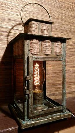 """Настольная лампа """"Морские тайны"""": Рабочий кабинет  в . Автор – Eco Shining Home"""