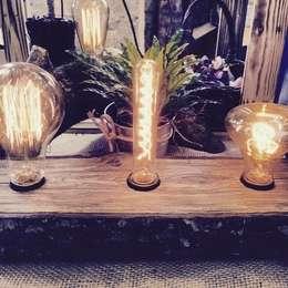 """Настольная лампа """"ECO COUNTRY"""": Гостиная в . Автор – Eco Shining Home"""