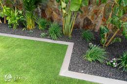 El enmarcado del jardín: Jardines de estilo moderno de Jardineria 7 islas