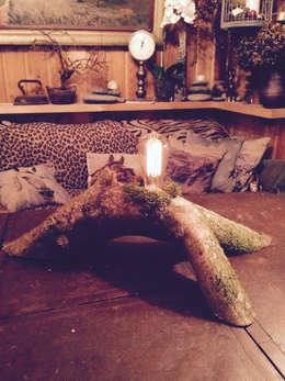 landelijke Woonkamer door Eco Shining Home