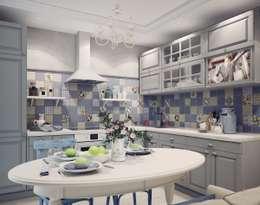 Кухня в стиле Прованс: Кухни в . Автор – Анна Теклюк
