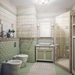 eclectic Bathroom by Анна Теклюк