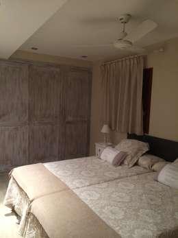غرفة نوم تنفيذ DE DIEGO ZUAZO ARQUITECTOS