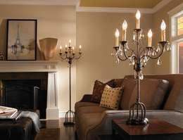 غرفة المعيشة تنفيذ Shine Lighting Ltd