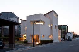 moderne Huizen door (주)건축사사무소 아뜰리에십칠