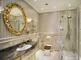 classic Bathroom by Tina Gurevich
