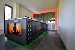 moderne kochinsel mit beleuchtung - Moderne Kochinsel