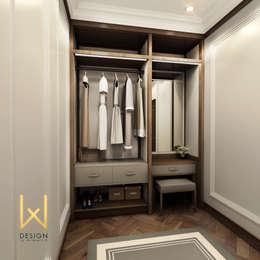 W DESIGN İÇ MİMARLIK – Sinop Valilik Binası: klasik tarz tarz Giyinme Odası