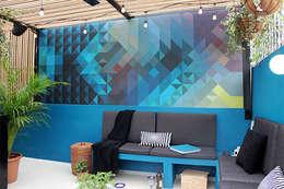 Paredes y pisos de estilo moderno por NINA SAND