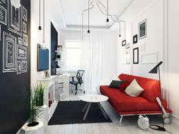 Спальня для подростка: Спальни в . Автор – Оксана Мухина